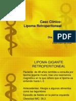 Lipoma Gigante retroperitoneal