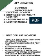 L1 Facility Location