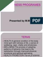 Wellness Programe
