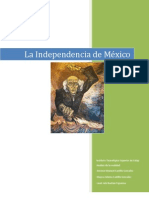 Informe Indepencia de Mexico