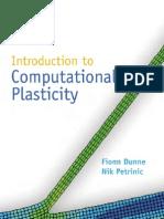 Introduction to Computational Plasticity