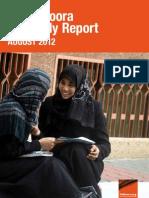 Quarterly Report August2012