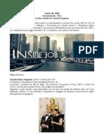 Inside Job - scheda didattica per studenti e professori