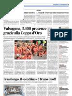 Coppa d'Oro sul Trentino, pagina 37 del 13 settembre 2012