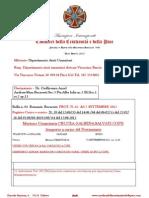 07 settembre 2012 Missione Umanitaria Bolla Per Romania