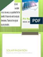 Indian Solar PV 2011