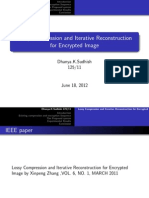 Lossy Compression and Iterative Reconstruction for Encrypted Image