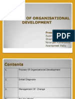 Proccess of Organisational Development