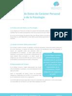 Protección de Datos de Carácter Personal en el ámbito de la Psicología