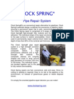 Clock Spring Pipe Repair System PDF