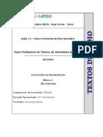 Manual Módulo 1 (Int. à Prog. e Algoritmia)