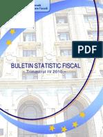 Buletin Statistic Fiscal 4 2010