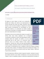 Drolas et al - Una aproximación teorica a la relacion entre trabajo y cultura