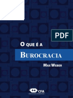 Livro Burocracia Weber