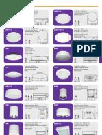 Catalogo Geral Plafonier e Spots
