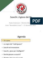 Presentazione Liceo Croce 2011