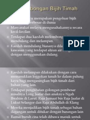 Perlombongan Bijih Timah P Point