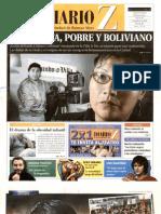 Adams, periodista, pobre y boliviano - Diario Z