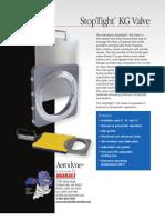 StopTight Knife Gate Valve for Material Flow Control   Aerodyne