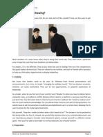 Notes on Leaderhip Charisma