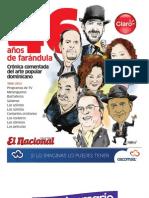 Suplemento El Nacional 46 Años de Farandula Dominicana (Sept 2012)