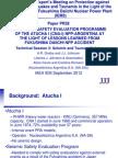 Atucha I Seismic Safety Evaluation Program