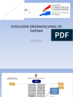 Evolucion Organizacional de Dapsan Revgpr