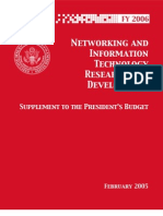 FY 2006 Supplement to the President's Budget