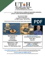 Florian Solzbacher's presentation September 19 to the Utah SAMPE chapter