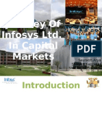 Infosys - Journey to Capital Markets