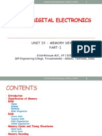 Ec2203-Unit IV Memory Devices Digital Electronics