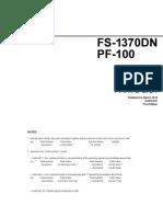 Fs1370dn Pf 100 Parts List
