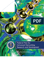 Federal Plan for Advanced Networking Research and Development