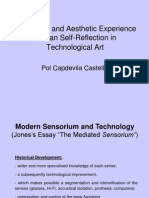 Pol Capdevila - Sensorium, Technology and Aesthetic Experience
