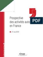 Pipame - Prospective des activités automobiles en France - synthese