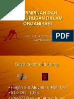 Kepimpinan Dan Pengurusan Dalam Organisasi