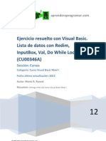 CU00346A Ejercicio Resuelto Visual Basic Lista Redim Inputbox Val Do While Loop