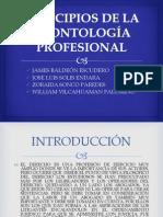EXPOSICIÓN DE DEONTOLOGÍA PROFESIONAL