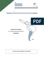 Documentación de la Planificación Participativa en la AGN - Argentina