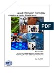 Networking and Information Technology Workforce Study - Final Report