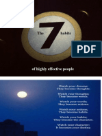 The seven  habits of highly effective peoples -Proactive