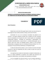 REPUDIO A LOS HECHOS DE VIOLENCIA OCURRIDOS EN HUMAHUACA