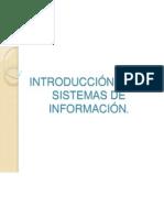 Introducción Ssistemas de informacion