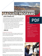 Electrical and Computer Engineering Department Graduate Programs