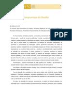 Compromisso de Brasilia - 1970