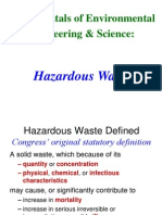 Lec # 39 Hazardous Waste