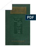 Muscle Building by Earle Liederman