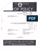 Phoenix Program PsyOps Policy - July 1971