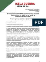 13-09-12 Posicionamiento GPPRI - 6to Informe / Comparecencia SRE