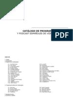 Catálogo de programas de radio y podcast españoles de videojuegos 2012 (v 1.01)